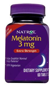 Natrol メラトニン持続タイプ3mg